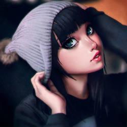 Hat girl by xxNIKICHENxx