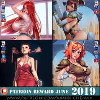 June 2019 patreon reward