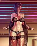V (Cyberpunk 2077) fanart