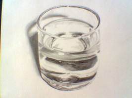 Glass of Water by AIZ-is-me