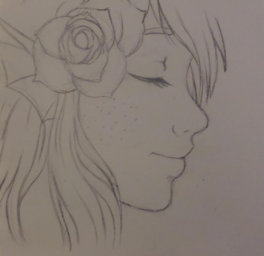 Levi flower by Ani-Sempai