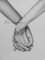 Holding Hands by BKLH362