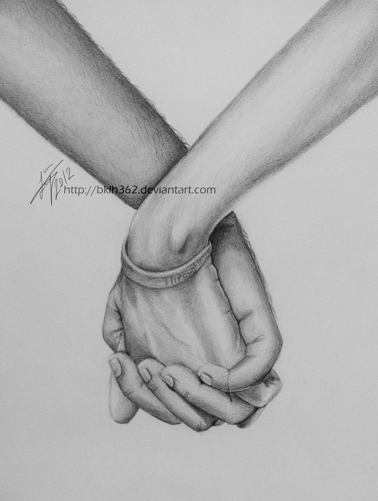 Holding Hands By BKLH362 On DeviantArt