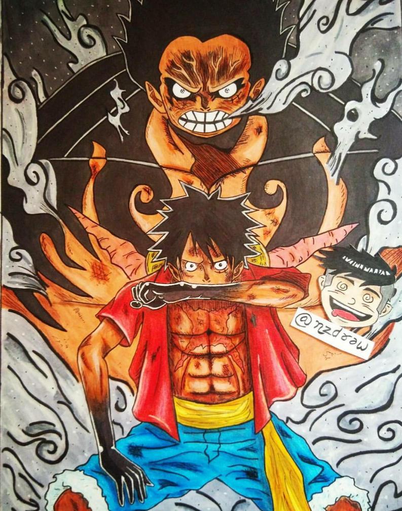 Monkey D Luffy by nzdraw