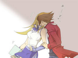 Judai x Asuka kiss by xXJudaiSamaXx