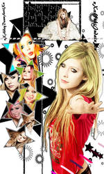 My new Avril Lavigne yt layout by xXJudaiSamaXx