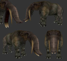 Platybelodon by Ophious