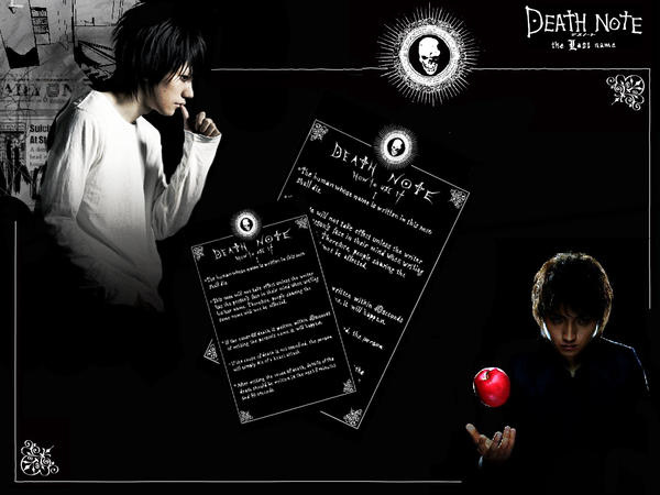 wallpaper death note. roxy wallpapers. (DEATH NOTE