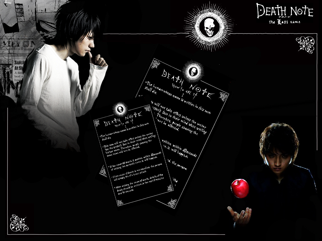 Celebrity Life's Style: Death Note