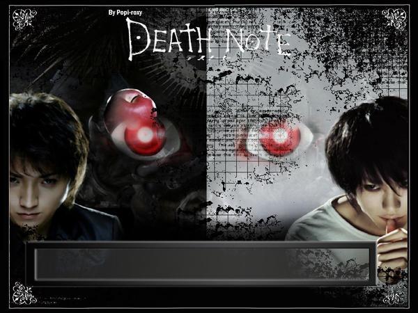 DEATH NOTE MOVIE WALLPAPER 3 By Roxy005
