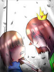 This isn't a game anymore (SlaveTale chara/frisk)