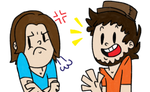 Really Cartoony Game Grumps!