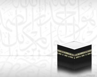 The Ka'ba by Muhanned
