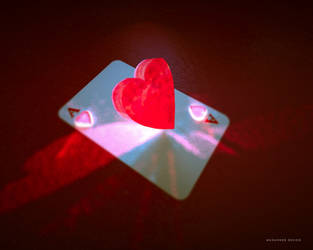 Ace of Hearts by Muhanned