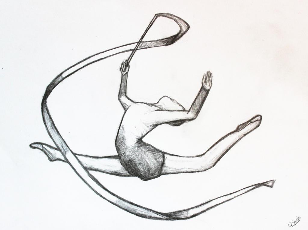 Rhythmic Gymnast by Sendzu