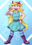 Star Butterfly by AnettRuby