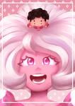 Pink Diamond and Steven