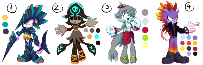 Sonic Adoptables Auction (2/4)