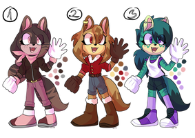 Sonic Adoptables Auction 2 (1/3)