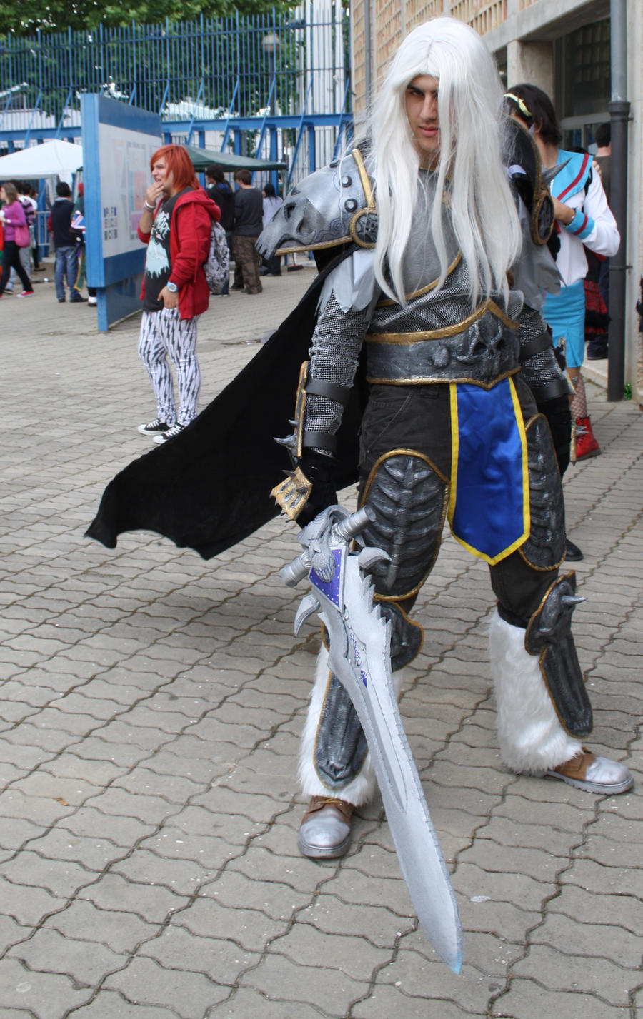 Cosplay Arthas by Iancholo