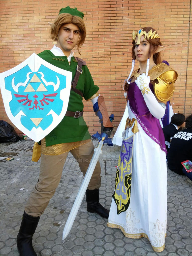 The Legend of Zelda Twilight Princess cosplay by IanCholo