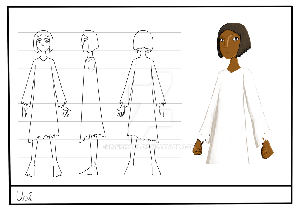 Desing character, Ubi by IanCholo