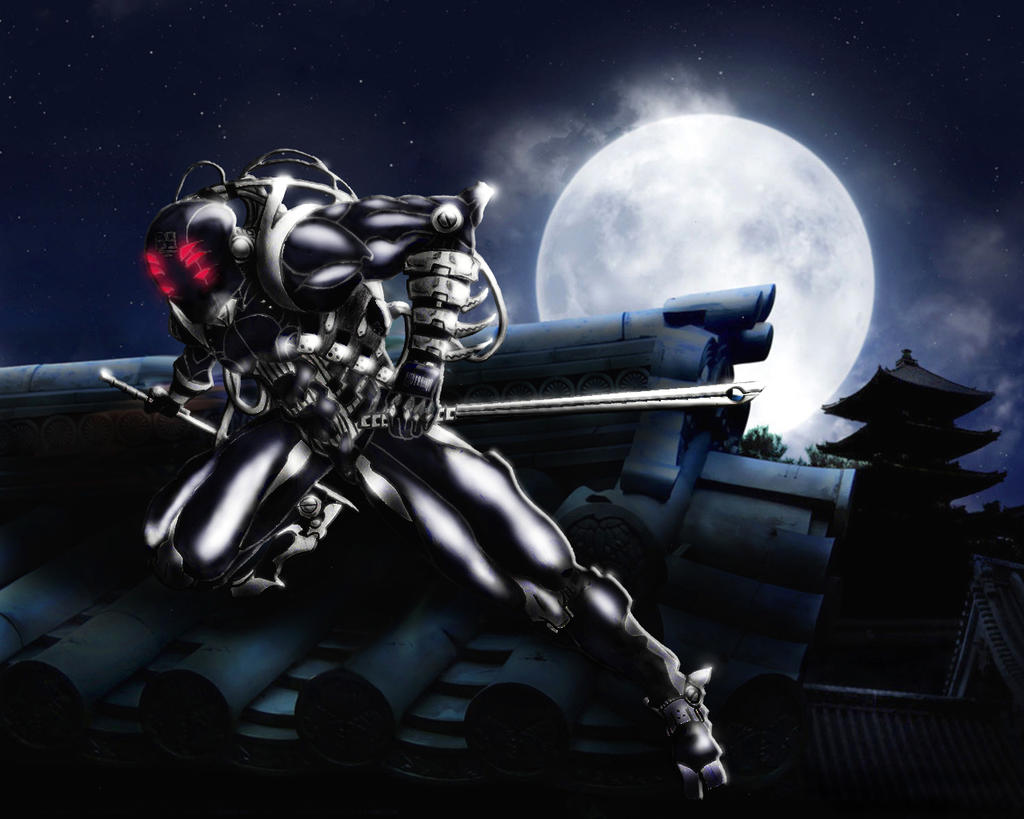 robot cyber ninja assassin xd by sisus1 on deviantart