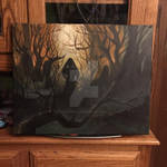Sillhouette painting