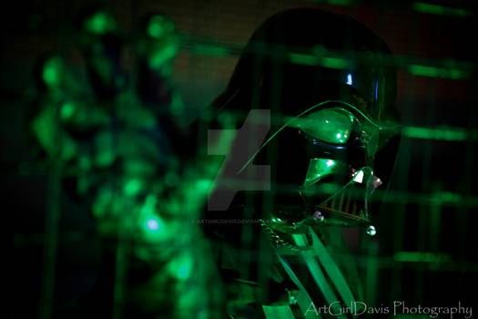 Darth Vader enters the Matrix