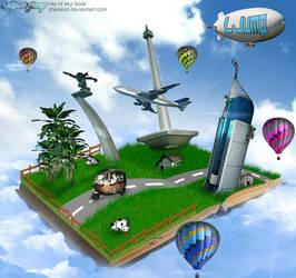 city of sky book by zheiiand