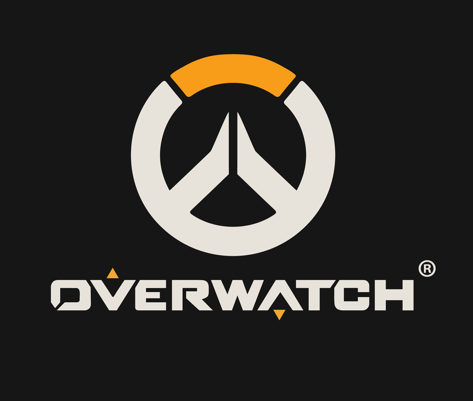 OverWatch Logo (HD) Black by 9b8ll on DeviantArt
