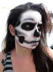 Skull Make Up 2 - Tutorial