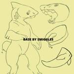 Detachable Tail Shark Base [[PTU .80]]