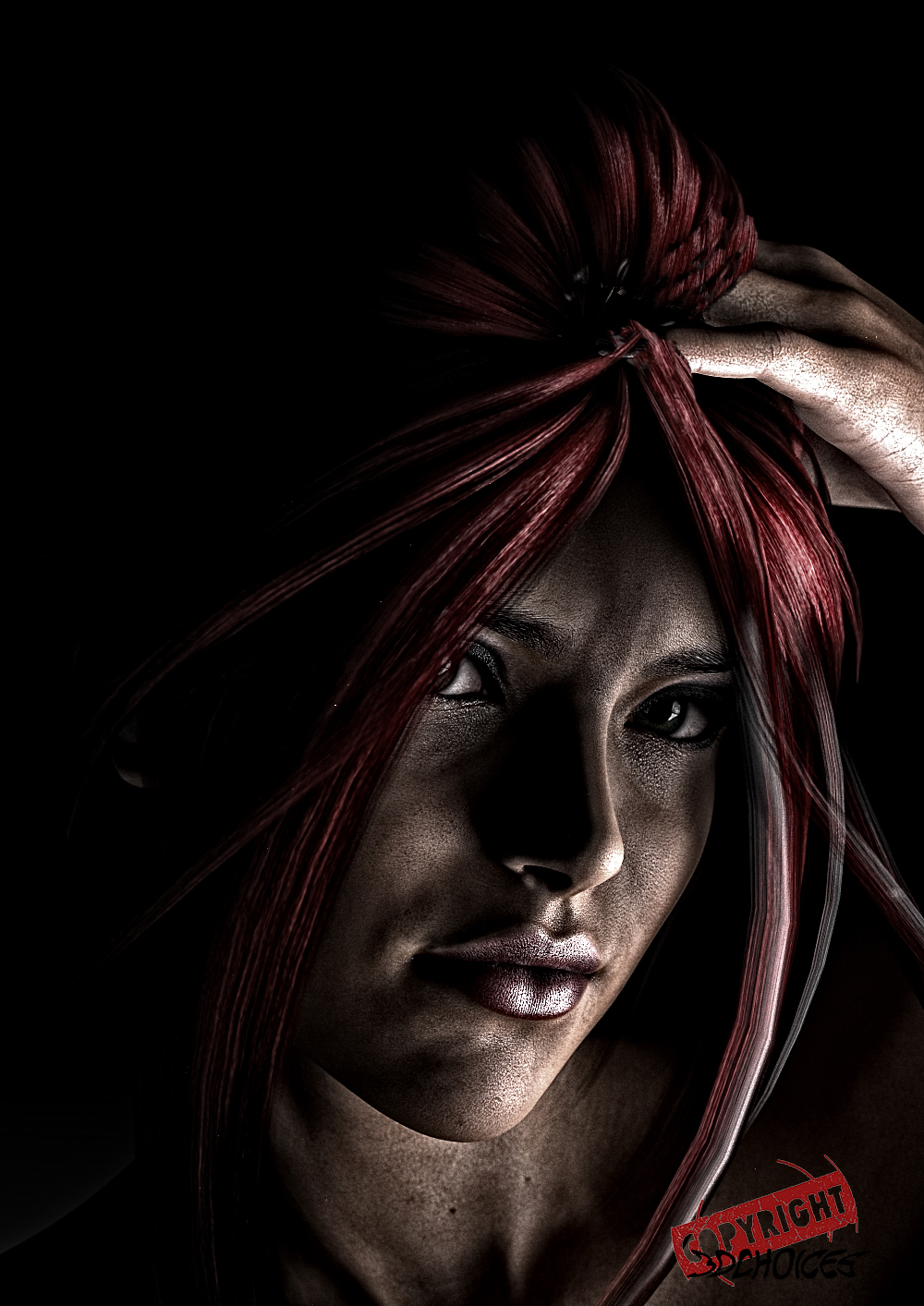 Laura's Portrait by manablo7