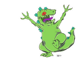 Reptar Coloured