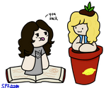 Robert the Plant and Jimmy the Page by SyrinxPriest2112