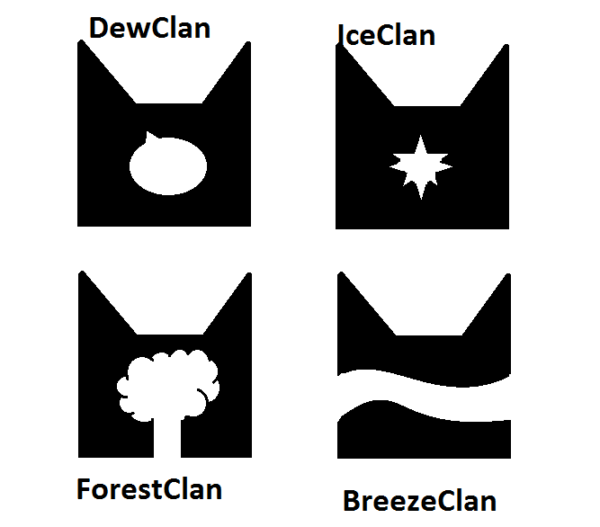 Clan Symbols by LunaofMoonpack on DeviantArt
