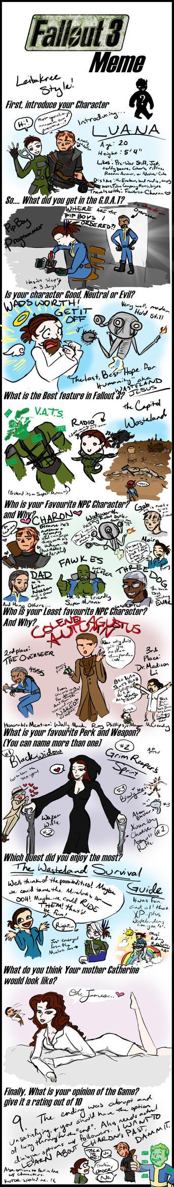 Edge14's Fallout 3 Meme by LeitaKree