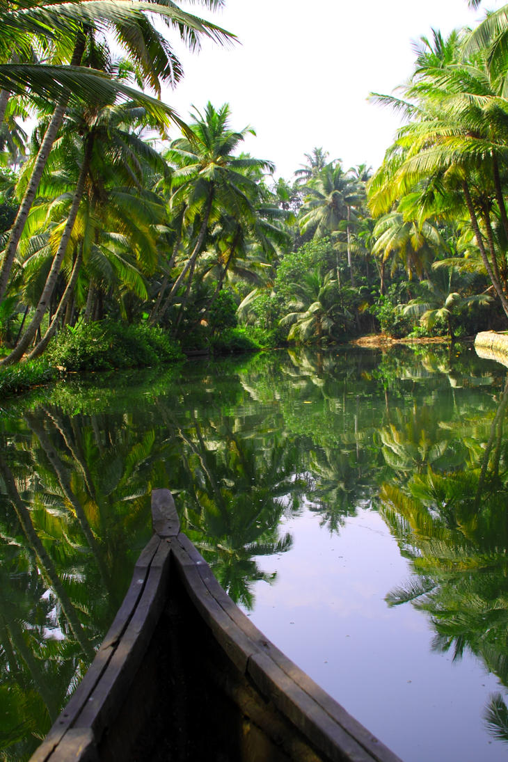 Backwaters of Kerala by EmilyNorthey