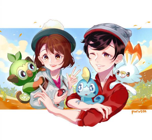 Fanart Pokemon Sword And Shield By Puruton On Deviantart