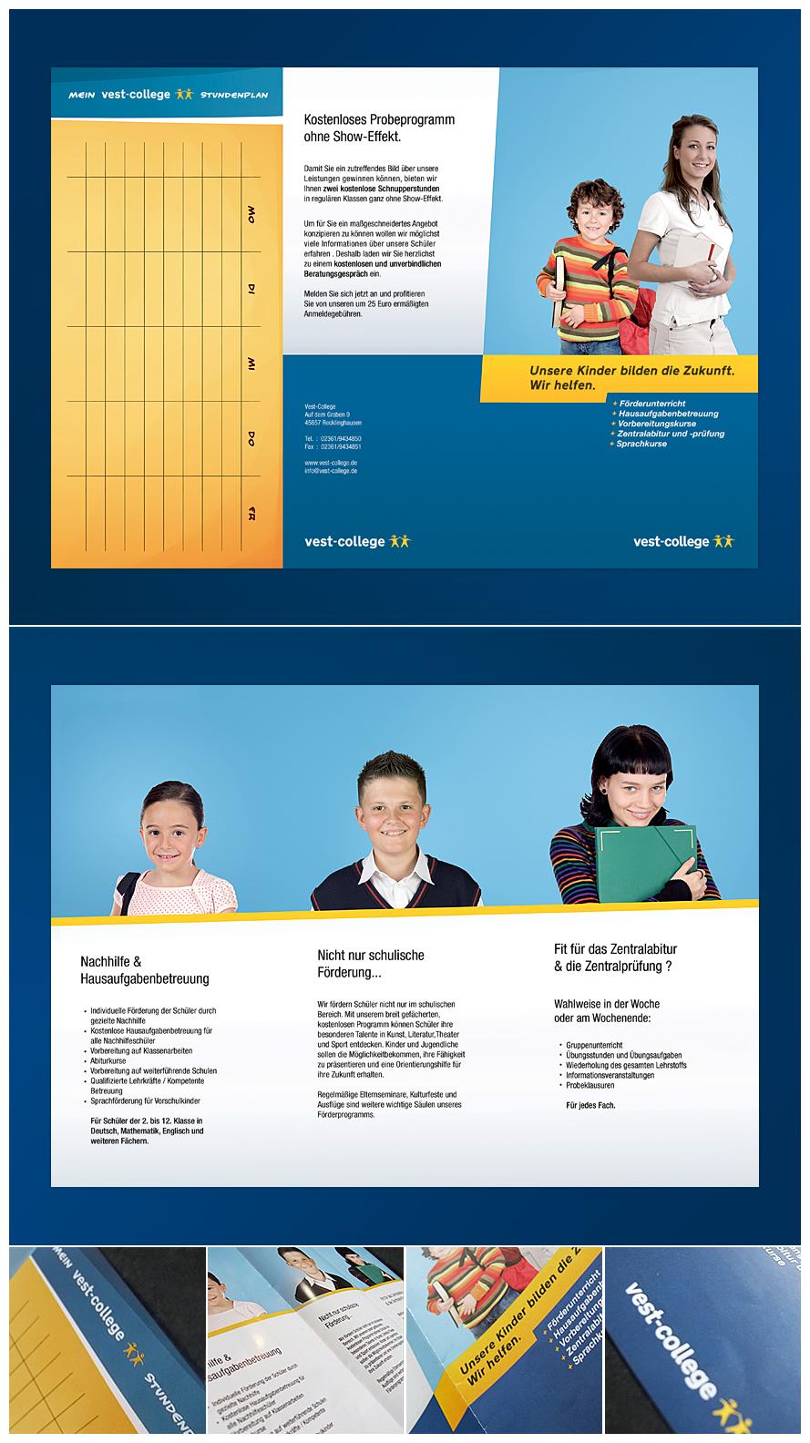 VestCollege Brochure by GreatNemo on DeviantArt – College Brochure
