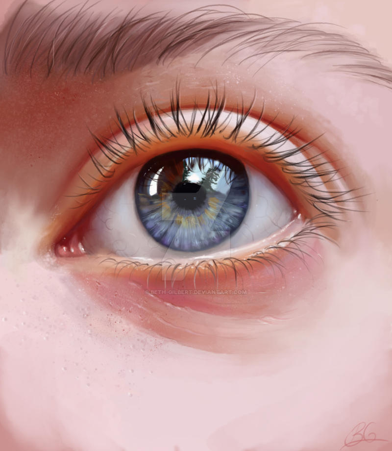 Eye Study by Beth-Gilbert