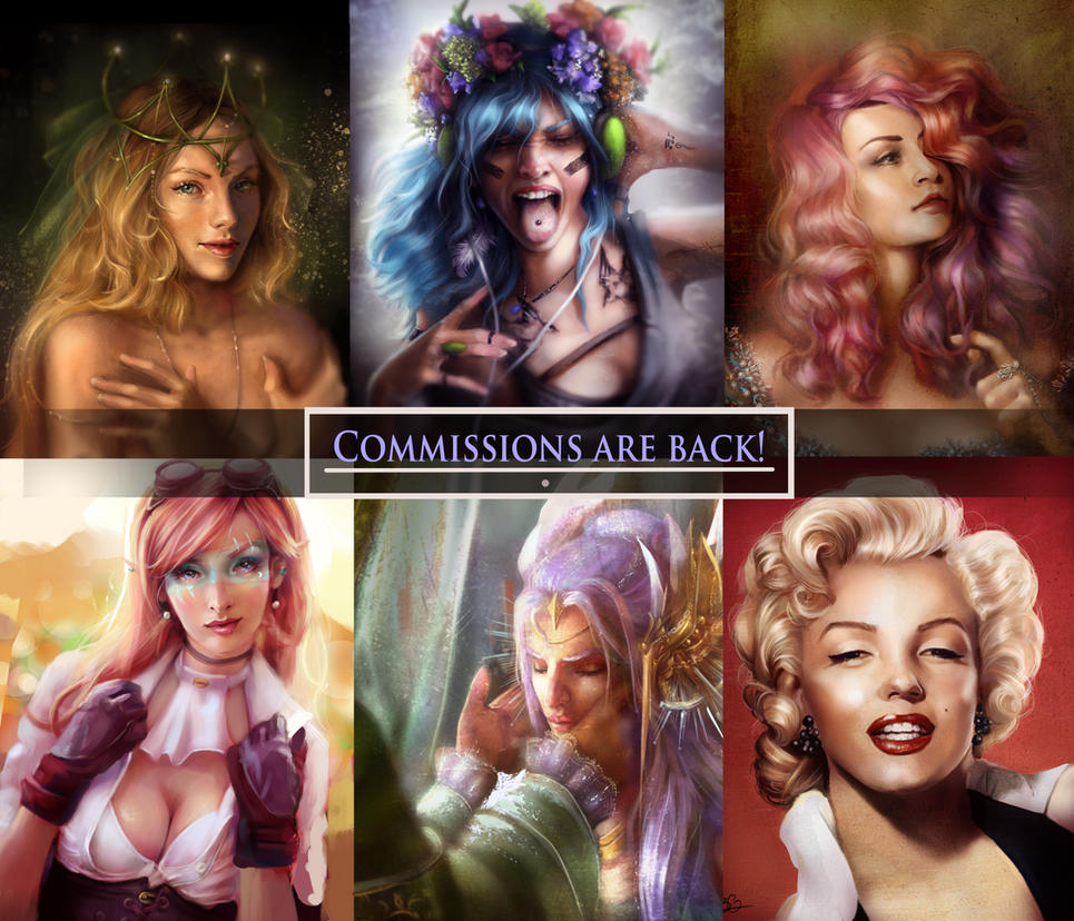 Commissions by Beth-Gilbert