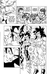 Dragon Ball GT sample page by Lea6666