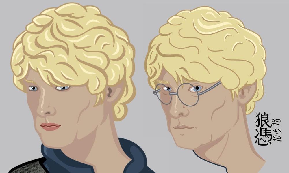 Cole Ormont Comparison by theGhostWolfe