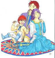 Pherae's Family by Koto-wari