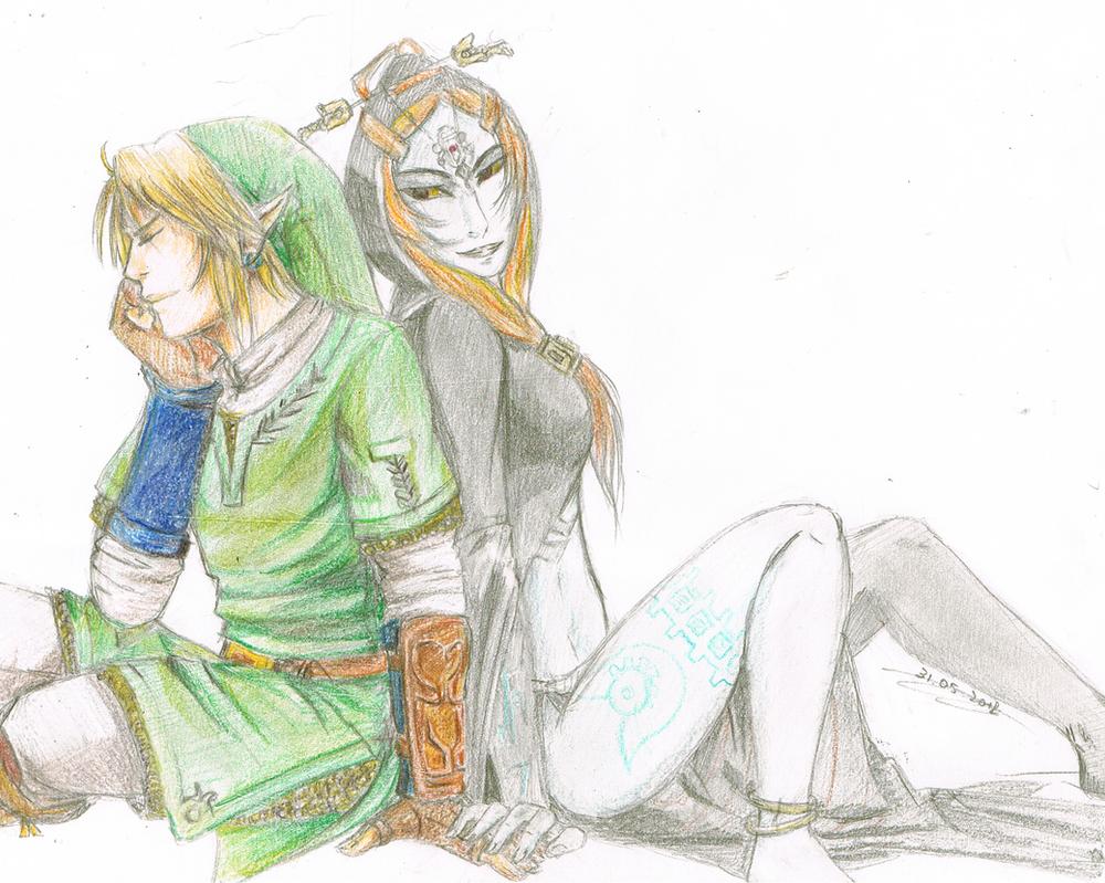 The Hero and the Princess by Koto-wari