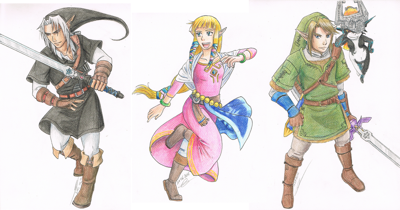 Favourite Characters - Legend of Zelda by Koto-wariAll Zelda Characters