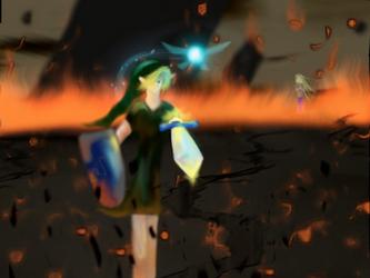 Final Battle by karei-no-shinzui