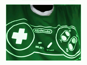 Nintendo-Shirt by Orkse
